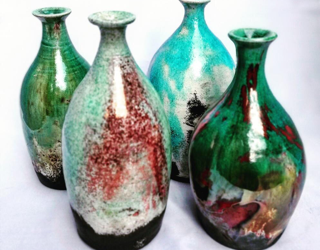 The art of Raku is returning to Sharpe's Pottery