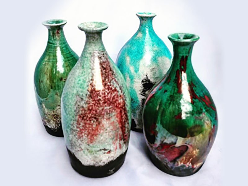 Raku Pots events at Sharpe's