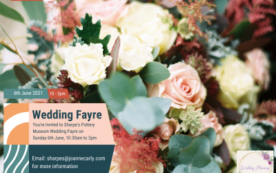 You're invited to Sharpe's Pottery Museum Wedding Fayre!